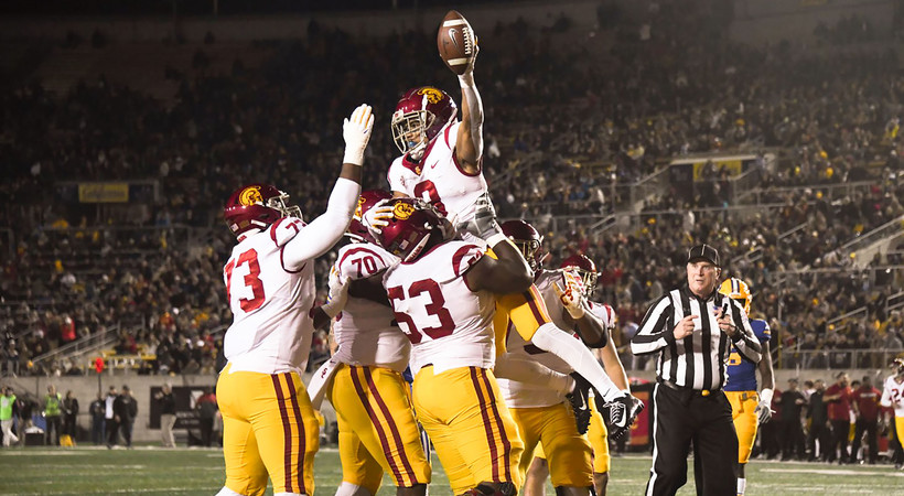 Highlights: Kedon Slovis' impressive performance leads USC football on the road over California