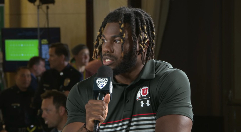 2019 Pac-12 Football Media Day: Zack Moss 'not surprised' to see Utah as the Pac-12's hunted team