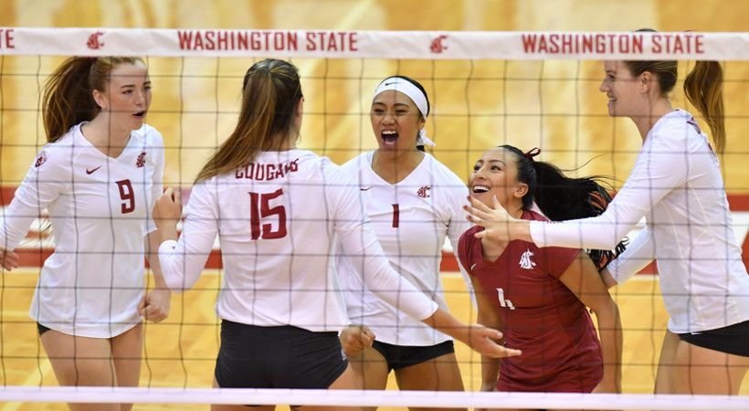 First-Place volleyball teams face off this week in Pac-12 play