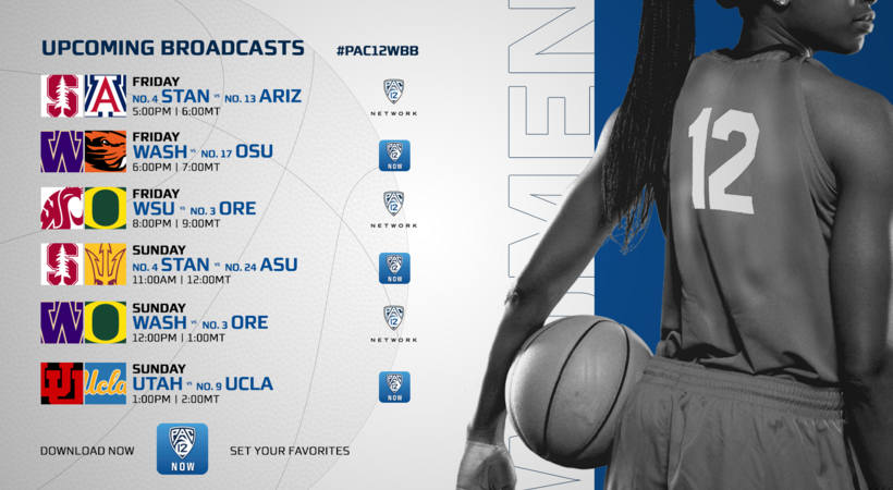 Pac-12 women's basketball regular season concludes, securing tournament seeding, during another action-packed week on Pac-12 Networks
