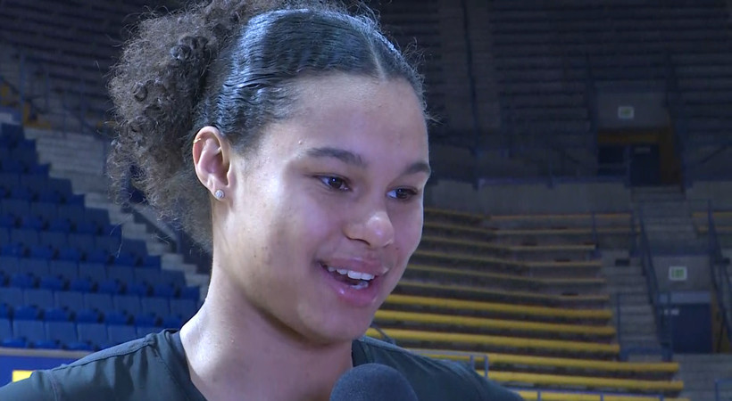 Oregon's Satou Sabally says she's 'excited' to take next step in her career after declaring for WNBA Draft
