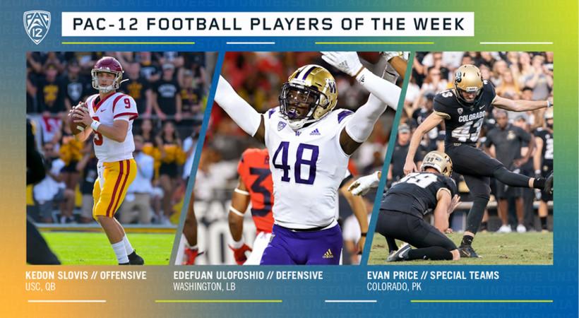 Pac-12 Football Players of the Week - Week 11