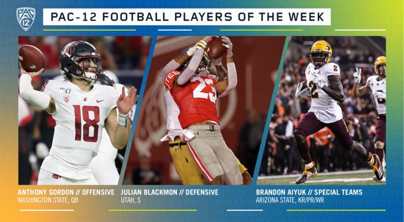 Pac-12 Football Players of the Week - Week 12
