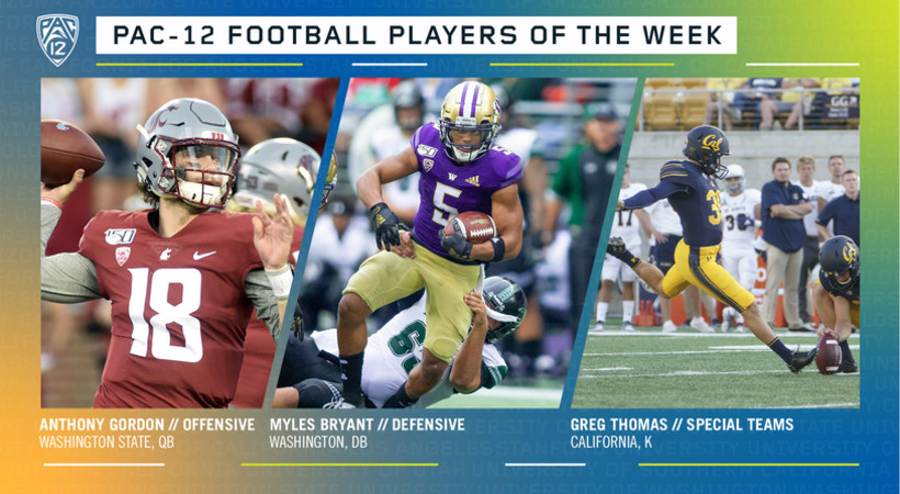 Pac-12 Football Players of the Week - Week 3