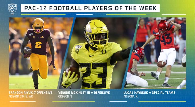 Pac-12 Football Players of the Week - Week 7