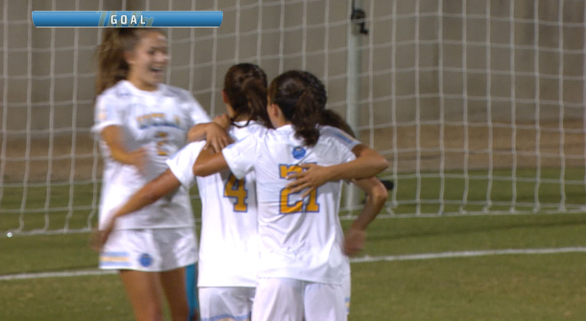 Highlights: No. 4 UCLA women's soccer dazzles with three goals in season debut