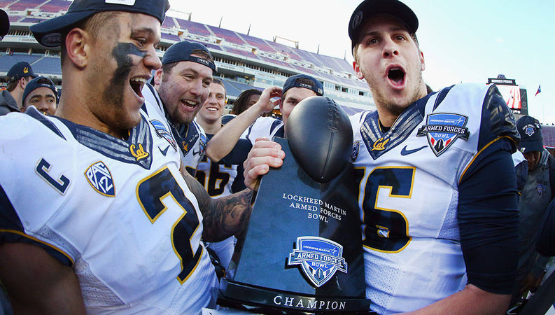 Cal Airs It Out To Win Armed Forces Bowl