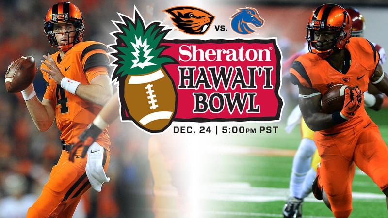 Beavers Invited to Sheraton Hawai'i Bowl