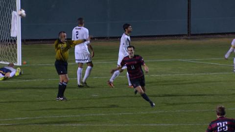 video recap: stanford men's soccer upsets no. 5 cal in ot