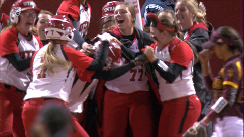 Recap: Utah softball walks it off for sweep of Arizona State