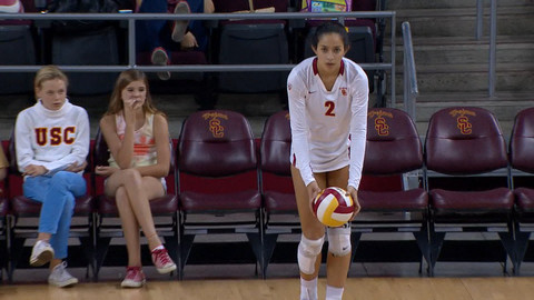 Recap: Samantha Bricio leads USC women's volleyball past ...