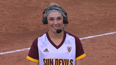 Arizona State Softball S Danielle Gibson On Rivalry With