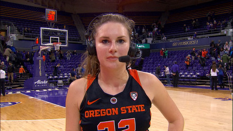 Oregon State Women S Basketball S Kat Tudor Discusses