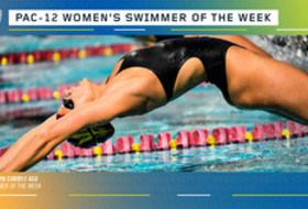 Pac-12 announces women's Swimmer of the week