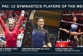Skinner, Peng-Peng Lee and George kick off 2018 Pac-12 gymnastics weekly honors