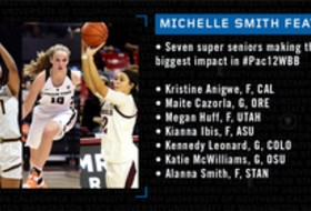Michelle Smith WBB Feature: Seven super seniors making the biggest impact