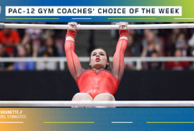 Stanford's Brunette earns the gymnastics Coaches' Choice of the Week award