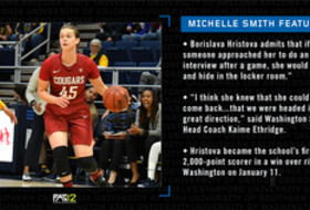 Michelle Smith WBB Feature: Hristova looks to lead WSU to do something special