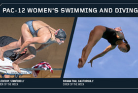 Pac-12 announces Women's Swimmer and Diver of the Week