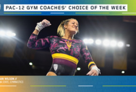 Arizona State's Wilson earns the gymnastics Coaches' Choice of the Week award