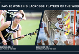 Pac-12 Announces First-Ever Women's Lacrosse Weekly Honors
