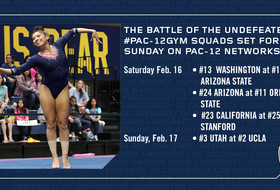 UCLA, Utah go head-to-head in a matchup of undefeated #Pac12Gym squads