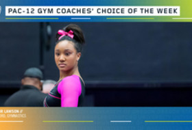 Stanford's Lawson earns the gymnastics Coaches' Choice of the Week award