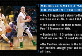 Michelle Smith WBB Feature: Oregon, Stanford to meet in the Pac-12 title game