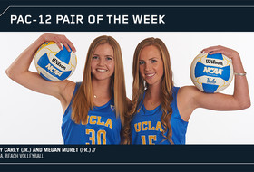 Pac-12 Beach Volleyball Pair of the Week: Izzy Carey and Megan Muret, UCLA