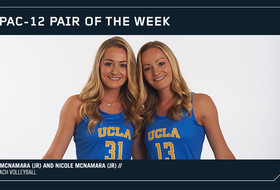 UCLA's Megan and Nicole McNamara named Pac-12 Beach Volleyball Pair of the Week1