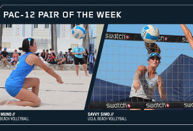 UCLA pair of Zana Muno and Savvy Simo named Pac-12 Beach Volleyball Pair of the Week