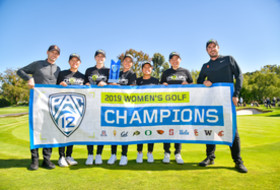 USC Captures Pac-12 Women's Golf Title Arizona State's Mehaffey grabs Medalist Honors in Playoff
