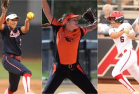 Nancy Bowling (6), Danielle O'Toole (3) Arizona; Meehra Nelson, OSU