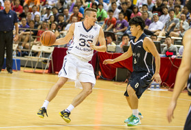 Highlights: Pac-12 all-stars cruise past Chinese university all-stars
