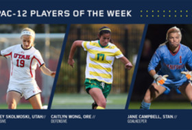 Pac-12 women's soccer players of the week