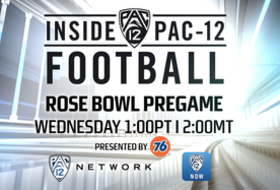 "Pac-12 Network's hour-long Rose Bowl coverage begins tomorrow  at 1 p.m. PT / 2 p.m. MT on a special edition of ""Inside Pac-12 Football"""