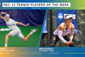 Pac-12 announces tennis players of the week