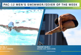 Pac-12 announces men's swimmer and diver of the week