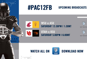 No. 18 ASU takes on Washington State ahead of No. 15 Utah visiting Oregon State for full weekend of football on Pac-12 Network