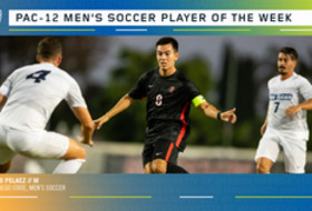 Pac-12 Announces Men's Soccer Player of the Week