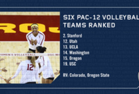 First Half of Pac-12 Volleyball Season Wraps Up