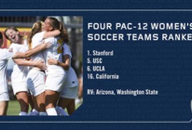 Four teams in the hunt for Pac-12 women's soccer crown