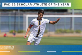 California's Lekressner named Pac-12 Men's Soccer Scholar-Athlete of the Year