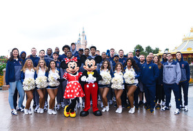 2018 Pac-12 China Game: California men's basketball, Golden Bear contingent visit Shanghai Disney Resort