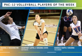 Pac-12 announces volleyball players of the week