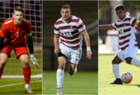 Herman, Morris, Vincent NSCAA All-Americans