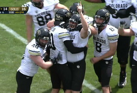 Colorado celebrates spring game-winning field goal like the real thing