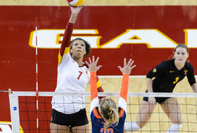 <p>USC women's volleyball Ebony Nwanebu</p>