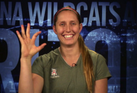 Video: Arizona's Kingdon named Pac-12 offensive player of the week