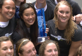 California women's swimming & diving crowned 2014 Pac-12 champions